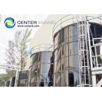 Buy cheap Anti Adhesion EN ISO 28765 Bolted Steel Liquid Storage Tanks product