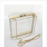 Buy cheap Lucite acrylic clutch box / clear acrylic storage containers For Girls product