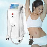 Buy cheap Painless Diode Laser Hair Removal Machine 808nm 5-400ms Pulse Width from wholesalers