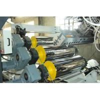 China High Tension Fireproof Conical Twin Screw Extruder PVC Sheet Production Line 0.5 - 2mm Sheet Thickness on sale