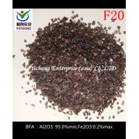 Buy cheap Brown Aluminum Oxide with good hardness for sandblasting media size F16,F20,F24 product