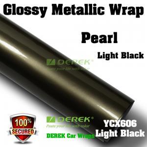 Buy cheap Glossy Metallic Car Wrapping Film - Glossy Metallic Light Black product