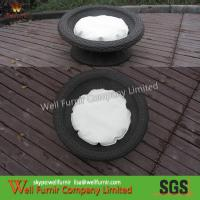 Buy cheap Water Proof Wicker Pet Bed With Aluminum Frame ,Rattan Pet Furniture product
