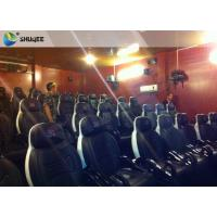 Buy cheap Integrating Simulating Luxury Cabin Box 5D Cinema System With Fiber Glass Material product