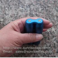 Buy cheap Stress Relief Fidget Toy, CNC milled aluminum alloy roller stick anodized colors product