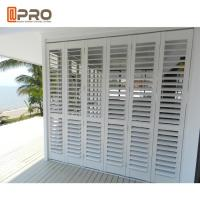 Buy cheap White Color Horizontal Fixed Aluminum Louver Window For Commercial House product