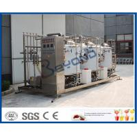 Buy cheap Semi Automatic Split Clean In Place System 5000L Per Hour For Equipment Washing product