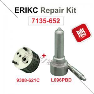 Buy cheap ERIKC 7135-652 delphi injector repair kit nozzle L096PBD valve 9308-621C for FORD EJDR00301Z 0201Z 0101Z 1001D 0401Z product