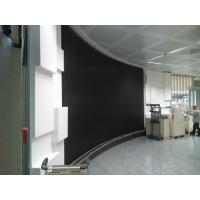 Buy cheap HD SMD P4 Flexible Led Screens , Round Curved Led Wall for Rental Show Advertising product