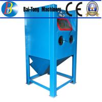 Buy cheap Stainless Steel Body Wet Abrasive Blasting Cabinet , Wet Sand Blasting Machine Pneumatic Pedal Switch product