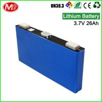 Buy cheap Environmental protection rechargeable lithium nmc battery cell 3.7V 26Ah for UPS product