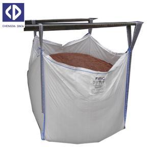 Buy cheap Polypropylene FIBC Bulk Bags Flexible Bulk Container For Sand Stone Silica product