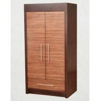 Buy cheap Wooden Two Door Wardrobe Storage Closet With Drawers For Hotel Bedroom product