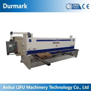 Buy cheap QC11K CNC Hydraulic guillotine shearing machine 6*3200 stainless steel sheet product