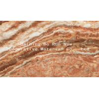 Buy cheap Custom Patterned PET Marble Adhesive Paper Decorative Films For Windows product