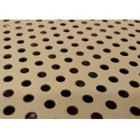 Quality Aluminium Perforated Metal Sheet Custom Hole Shape For Mechanical Device Protection for sale