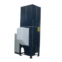 Buy cheap Grinding Workshop Integrated 7.5kW Central Dust Collector product