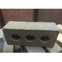 Buy cheap Turned Color Perforated Clay Bricks , Brick Veneer Exterior Siding Low Water Absorption product