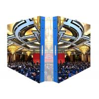 Buy cheap P2 Indoor Fixed LED Display Screen / Led Video Screens with Steel Cabinet product