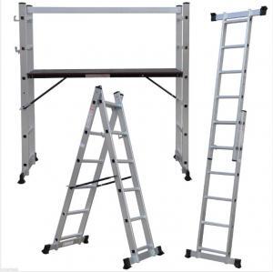 Buy cheap 2X6 Step Scaffolding Step Ladder , Aluminium Folding Ladder Multi Use product