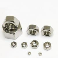 Buy cheap Standard 1 Inch Machine Screw Nut , Steel Lock Nut For Industrial Applications product