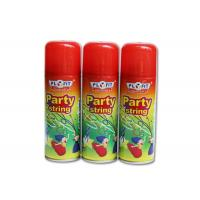 Buy cheap High Glossy Birthday Spray String ,silly string  Anti - Flammable Party Streamer Spray product