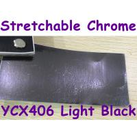 Buy cheap Stretchable Chrome Mirror Car Wrapping Vinyl Film - Chrome Light Black product