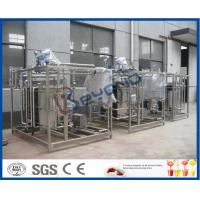 Buy cheap Yoghurt Pasteurizer Milk Pasteurization Equipment With SUS304 / SUS316 Material product