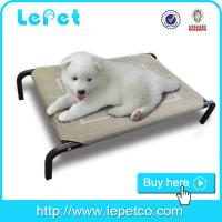 Buy cheap Raised cheap pet bed for dogs Orthopedic dog cot bed metal frame elevated dog bed product