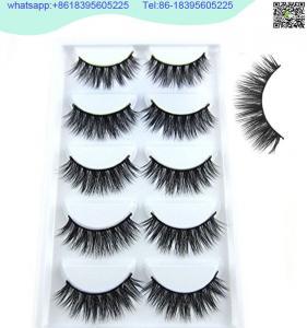 Buy cheap china 3D Faux Mink Double-Layered Silk Lashes Synthetic Fake Eyelashes Wholesale product