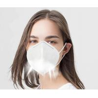 Buy cheap Disposable Non Woven KN95 Face Mask Foldable For Dusty Operations product