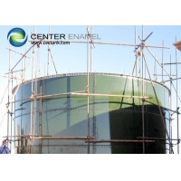 Buy cheap Glass Fused To Steel Continuous Stirred Tank Reactors CSTRs For Industrial Biogas Plants product