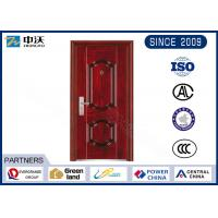 1.0 Hour Fire Rated Garage Entry Door , 8 Fire Hinges Fire Resistant Entry  Door