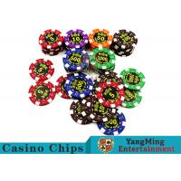 Buy cheap Good Printing Non - Faded Casino Royale Poker Chips With Special ABS Material product
