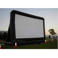 Buy cheap Open Air Inflatable Movie Screen Double Stitching AC 110V / 220V Supply Voltage product