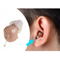 Buy cheap Fit In Right / Left Ear Hearing Aid Machine ABS Materials Long Lasting Battery product