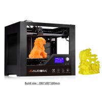 Buy cheap Student High Precision 3D Printer , 1.75 mm Nozzle Rapid Prototype 3D Printer Machine product