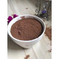 Buy cheap OEM ODM Alkalised Fat Reduced Cocoa Powder , Dutch Cocoa Powder For Baking product