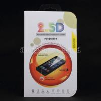 China 2.5D Tempered Glass Protection Screen For iPhone 5/5S on sale