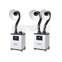 Buy cheap White Beauty Nail Salon Fume Extractor system Six Layer Filters , High efficient product