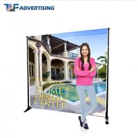 Buy cheap 10x8 Ft Stand Trade Show Booth Backdrop Telescopic Adjustable Flat Straight from wholesalers