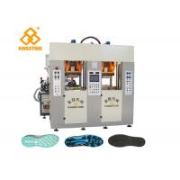 Buy cheap Two Stations TPU TR PVC TPR Sole Making Machines For Brand Shoes / 3.5*3.8*2.8m from wholesalers
