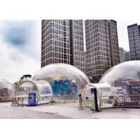 Buy cheap Outdoor Single Tunnel Inflatable Bubble Tent Double And Quadruple Sewing product