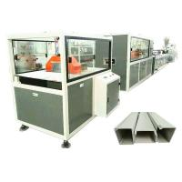 Buy cheap Twin Screw Pvc Profile Extrusion Machine Electrical Cable Trunking Making product