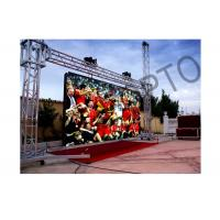 Quality Large High brightness Outside LEDStageCurtainScreen SMD3535 For Concerts for sale