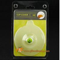 Buy cheap Cup Cover Air Tight Mug Lid Silicone Cap Devil Christmas Gift product