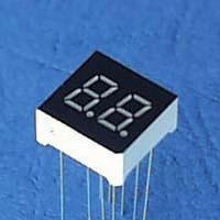Buy cheap 7 Segment LCD Display with -25 to 75 degree Celsius of Storage Temperature product