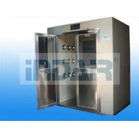 China Medical Care Decontamination Air Shower Stainless Steel Floor Minimize Particle Generation on sale