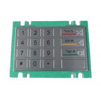 Buy cheap Watertight stainless steel metal keypad with Braille for kiosk and vending machine product