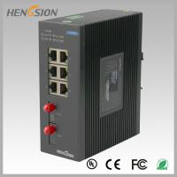 Buy cheap 8 Port fast ethernet switch 1.2Mpps Packet forwarding speed , fiber network switch product